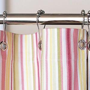 "Pottery Barn Kids Bath - Pottery Barn Kids Mult Striped shower Curtain 72"""